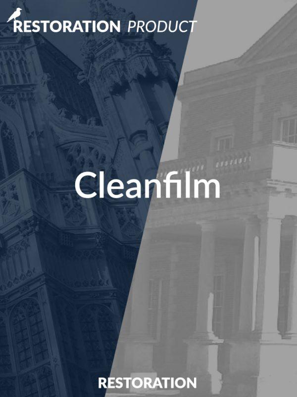 Cleanfilm Latex Paste Restoration Product