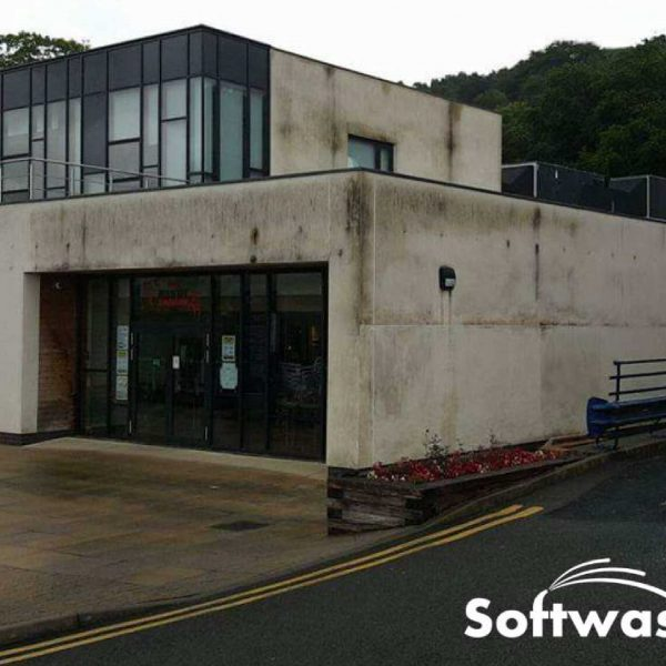 Softwashing UK-commercial project